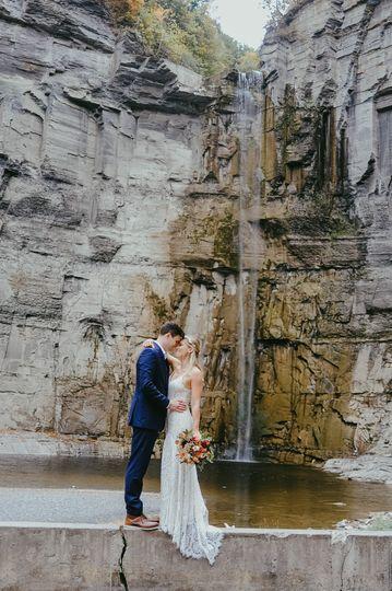 Taughannock Falls wedding.