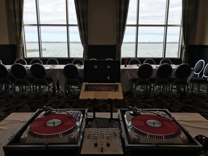 Setup view of Lake Erie