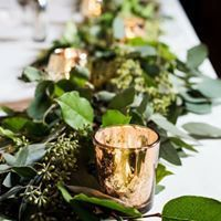 Vine as table runner
