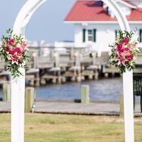 Wedding arch decoration