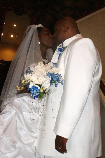 Couple kissing