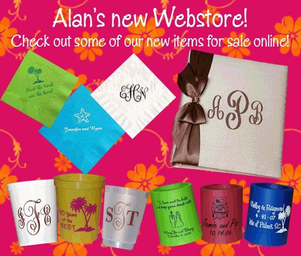 check out the new online store at Alan's Invitations