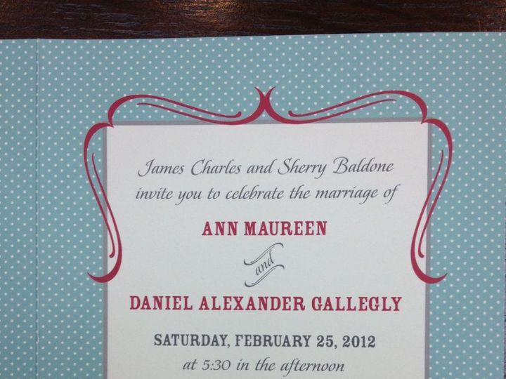 Tmx 1354822422506 PhotoMar1925336PM Birmingham wedding invitation