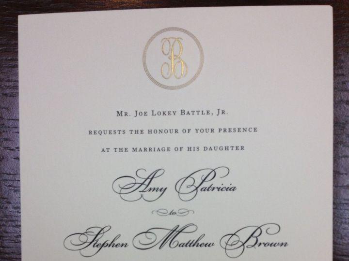 Tmx 1354822463793 PhotoMar1925437PM Birmingham wedding invitation