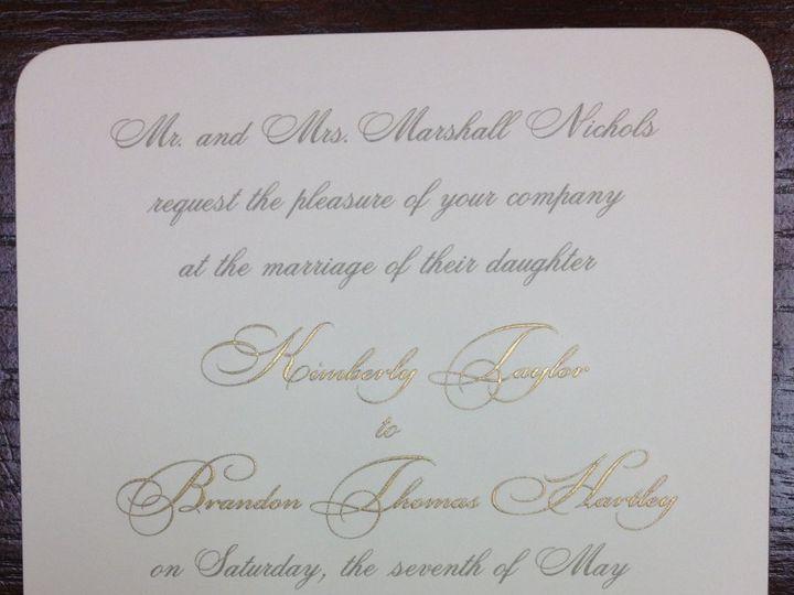 Tmx 1363195908764 PhotoMar1925448PM Birmingham wedding invitation