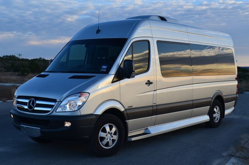 15 Passenger Coach, available in both Coach and Limo Style, Silver or Jet Black (4 hour minimum)