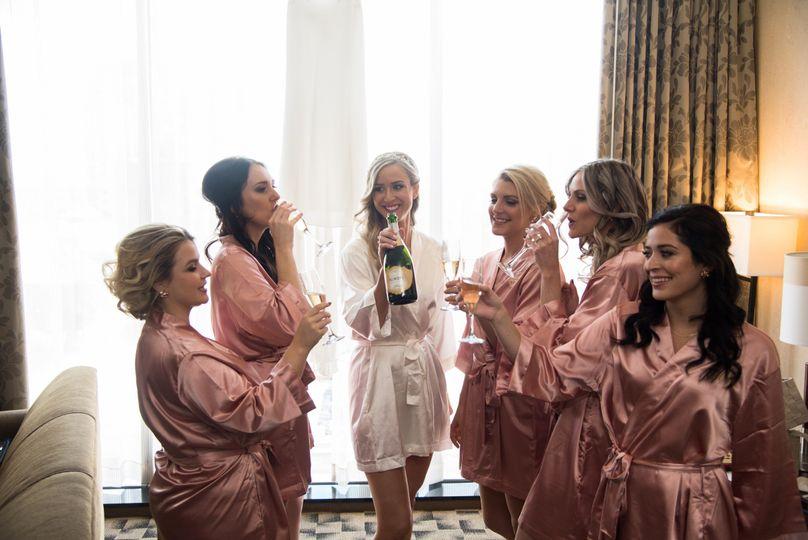 Rose gold robes