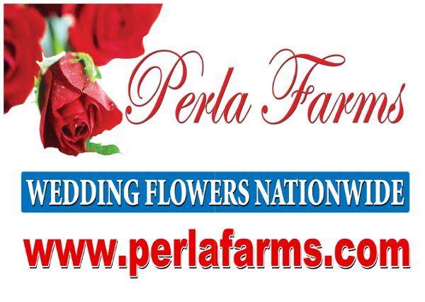 WeddingFlowersNationwidewww perlafarms com