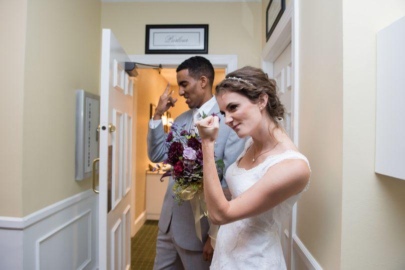 Fun bride | Michael Simon Photography
