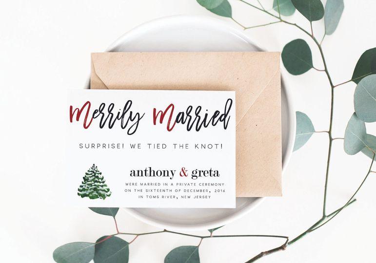 merrily married mockup