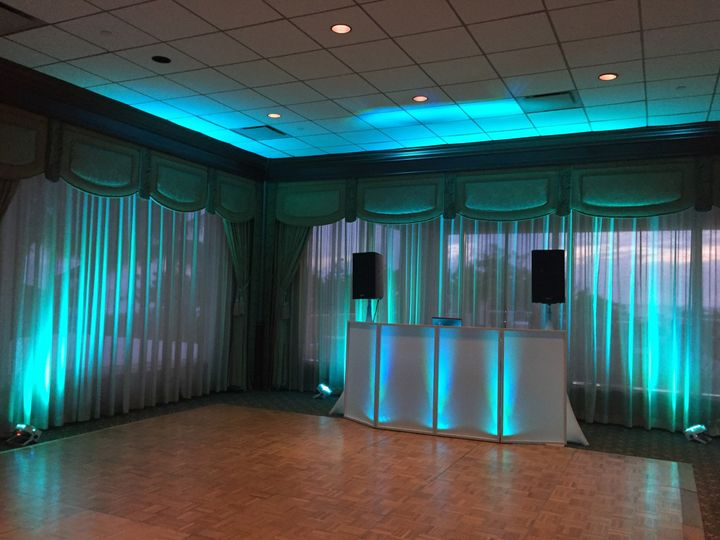 Dance floor area
