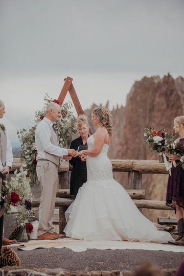 Smith Rock State Park Wedding