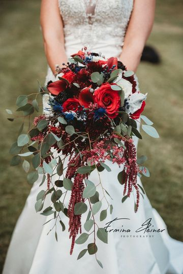 AWS Floral Design & A Wedding In Silk