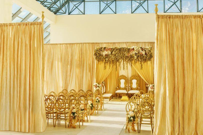 Atrium Wedding Ceremony