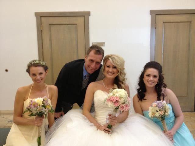 Photo with the ladies