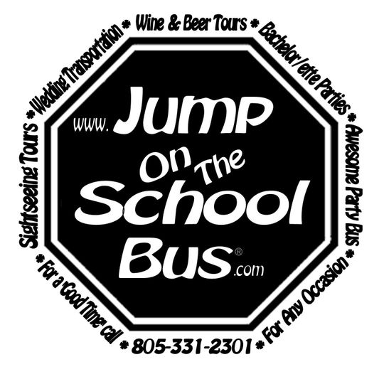 logo jump on the school bus log