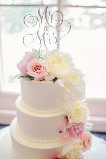 Wedding Cake, baked and designed by our Pastry Team