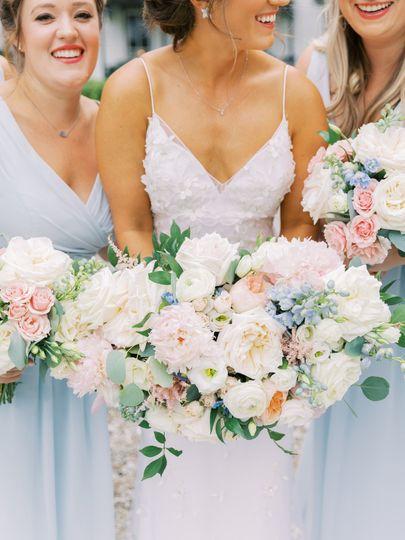 Perf bridal bouquet