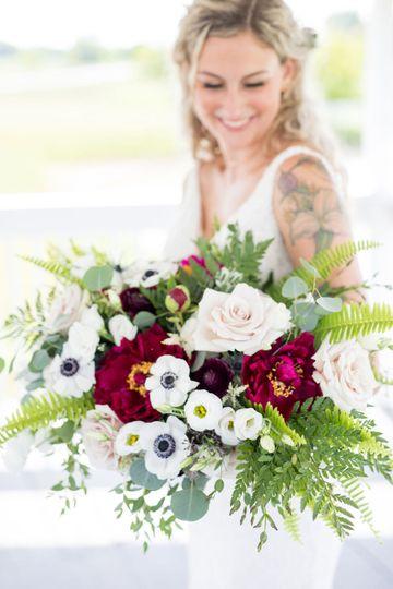 Brides Bouquet @ TheHoney Farm