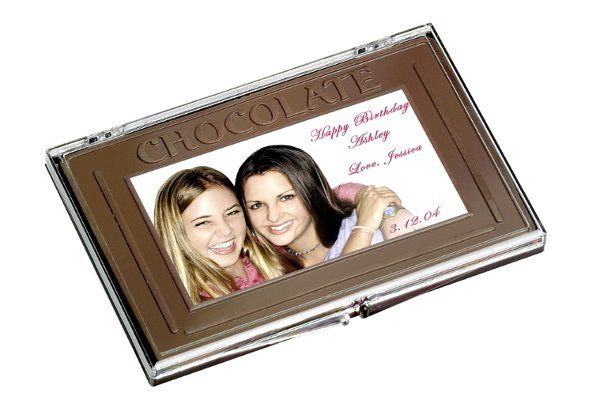 Large 8 oz bar of chocolate customized with your beautiful images.