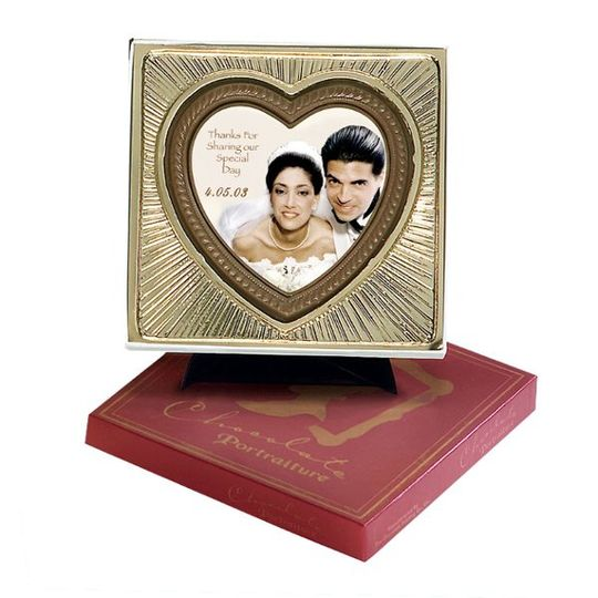 Heart Portrait individually boxed in gold insert.