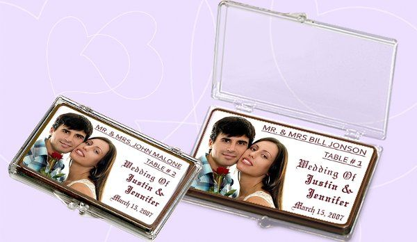 Wedding Table Cards which can be personalized with your images, wedding day message and custom text.