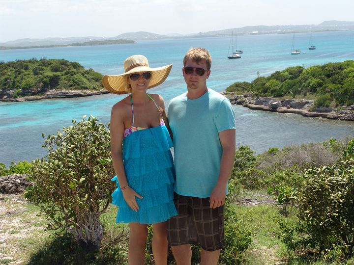 Honeymoon in antigua