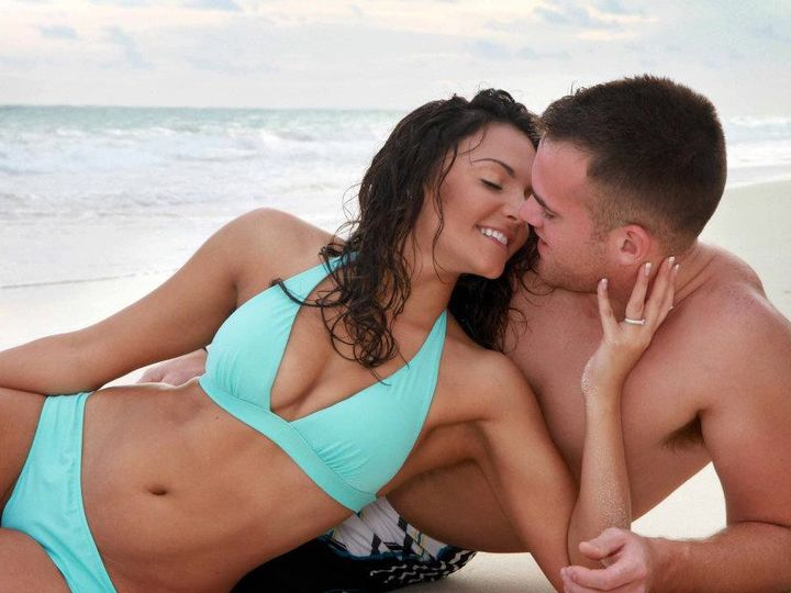 Tmx 1377807634879 Brad And Andrea Swim Suit Pose Copy Portage wedding travel