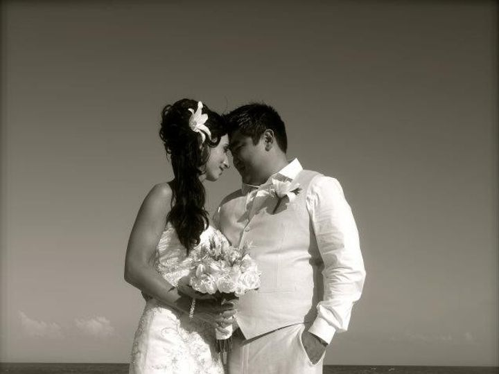 Tmx 1377808167459 Cool Black And White On Beach Copy Portage wedding travel