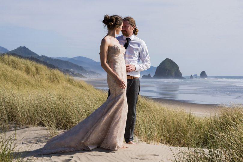 Cannon Beach Wedding