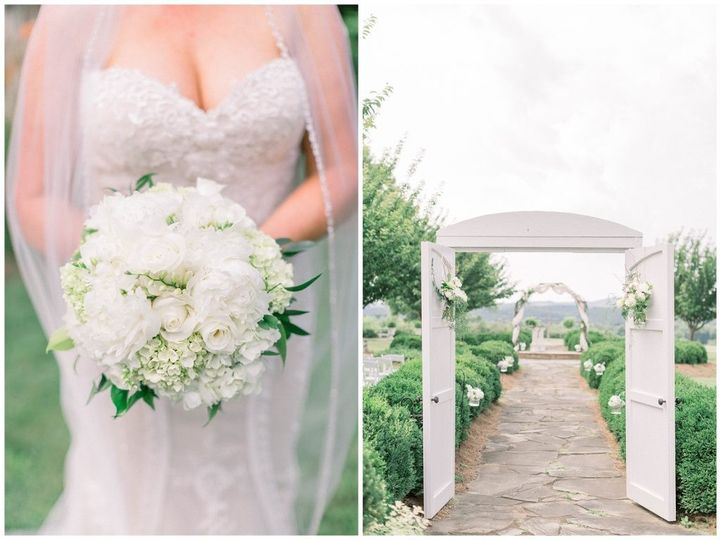 Bouquet and Ceremony Site
