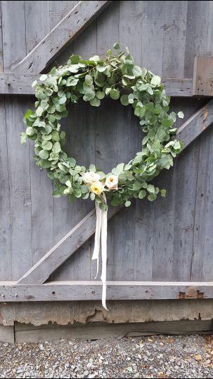 Beautiful focal point wreath