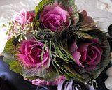 Tmx 1341585174354 KaleandLavenderRoseBouquet Kingston, New York wedding florist