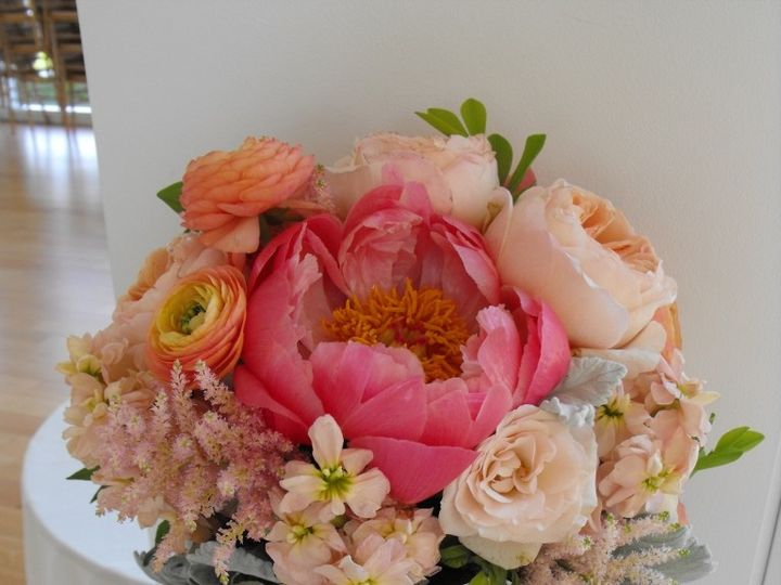 Tmx 1374886660936 Anightinbloomnissaandmichael Kingston, New York wedding florist