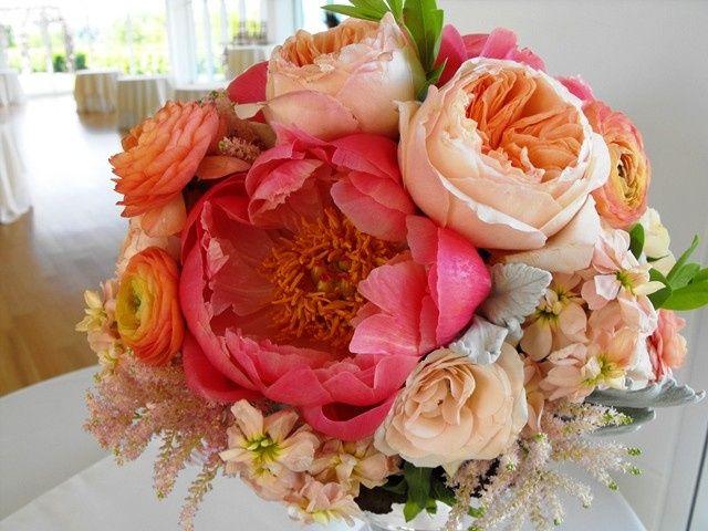 Tmx 1374886671170 Anightinbloomnissaandmichael3 Kingston, New York wedding florist