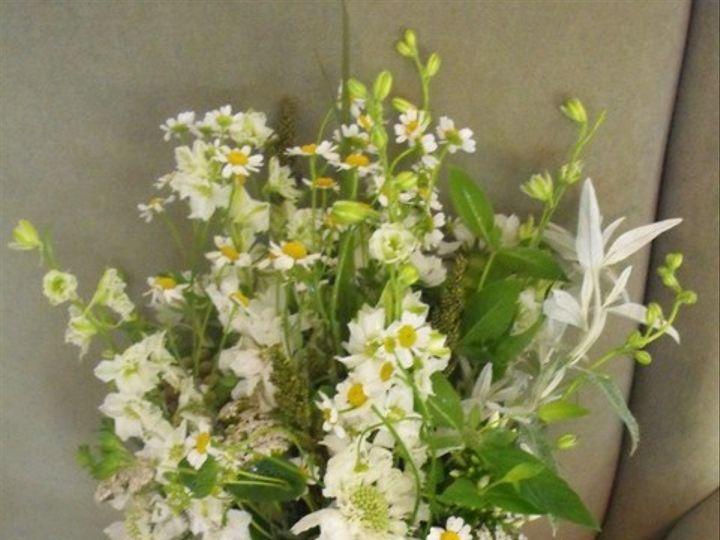 Tmx 1374887055328 White Wildflower Bouquet Kingston, New York wedding florist