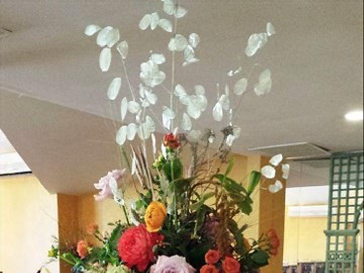 Tmx 1395846376056 Tall Silver Dollar Centerpieces Lr Kingston, New York wedding florist