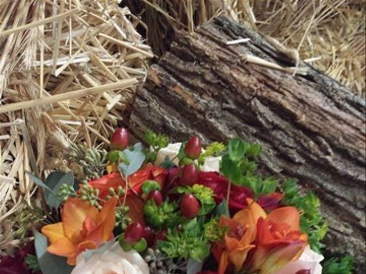 Tmx 1395847854830 Orange And Peach Berry Bouque Kingston, New York wedding florist
