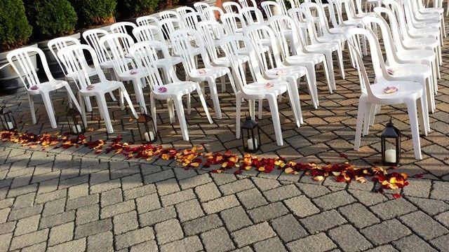 Tmx 1395848271635 Rose Petal Ceremony Decor Lr Kingston, New York wedding florist