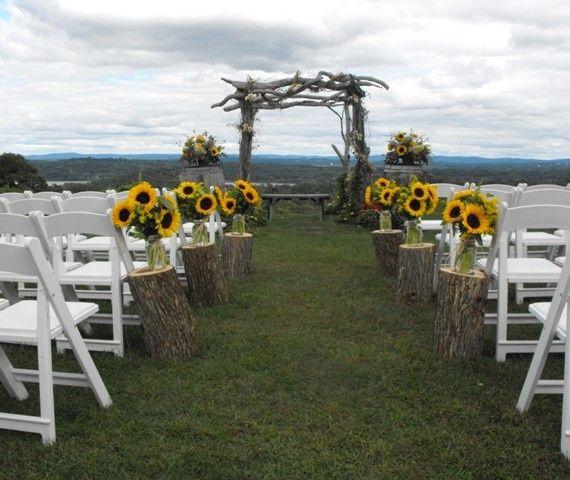 Tmx 1395849195960 Rustic Sunflower Ceremon Kingston, New York wedding florist