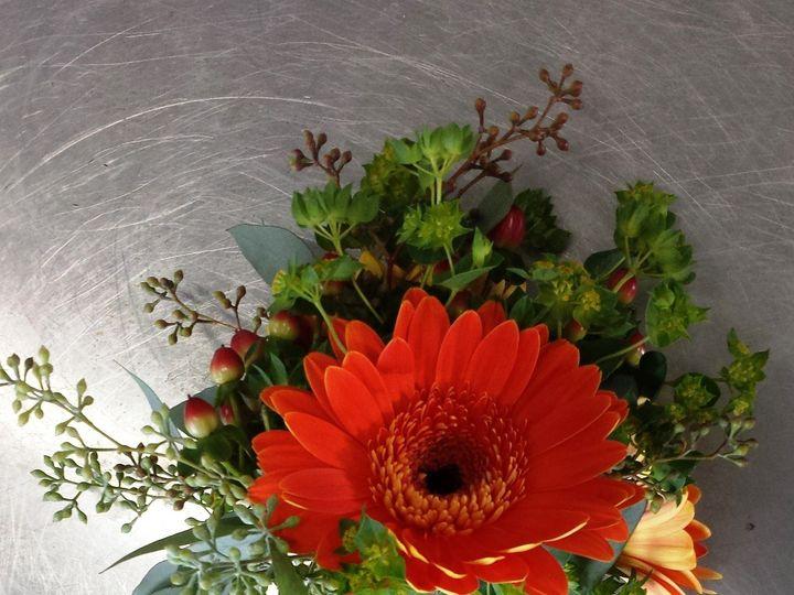 Tmx 1395851280929 Orange Daisy Bout Lr Kingston, New York wedding florist