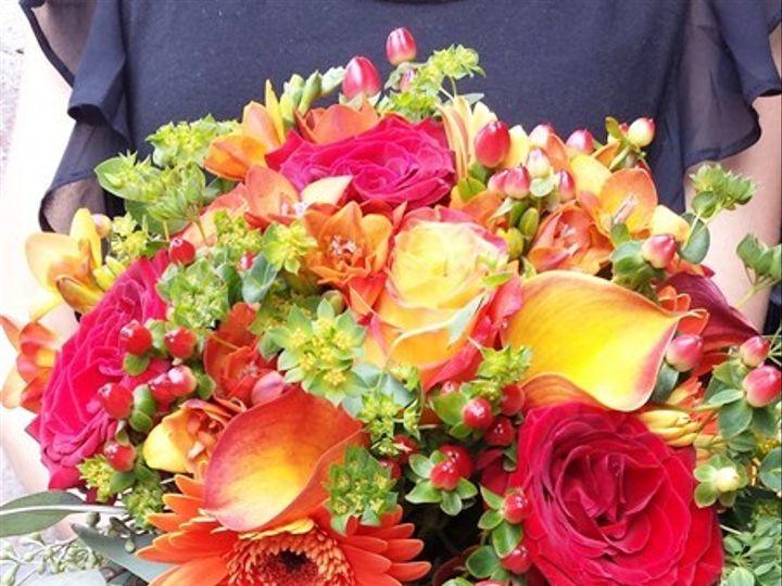 Tmx 1395851295948 Fall Toned Rose And Berry Bouquet Lr Kingston, New York wedding florist