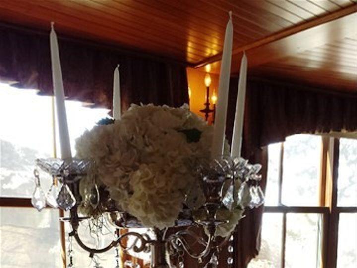 Tmx 1395852295363 Hydrangea Candleabras Centerpiece Lr Kingston, New York wedding florist