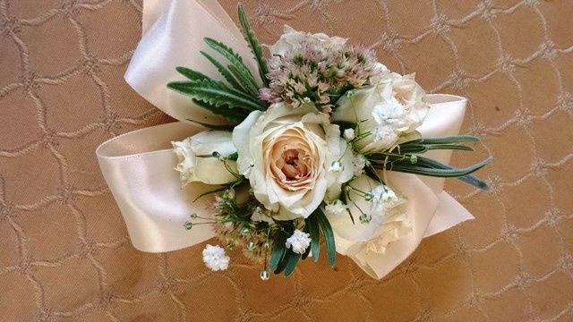 Tmx 1395852305693 Ivory Rose Corsage Lr Kingston, New York wedding florist