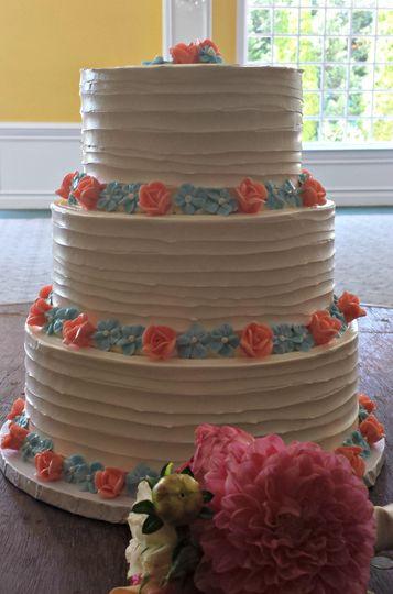 Three tier cake
