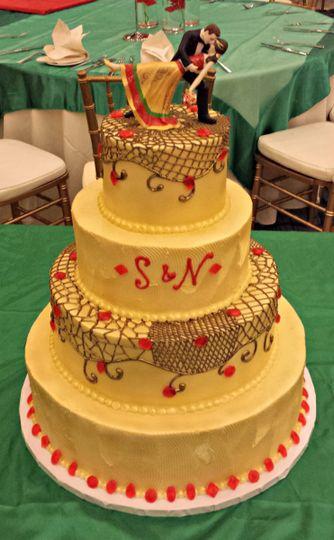 90a4c1ff4 The Happy Tart - Wedding Cake - Falls Church