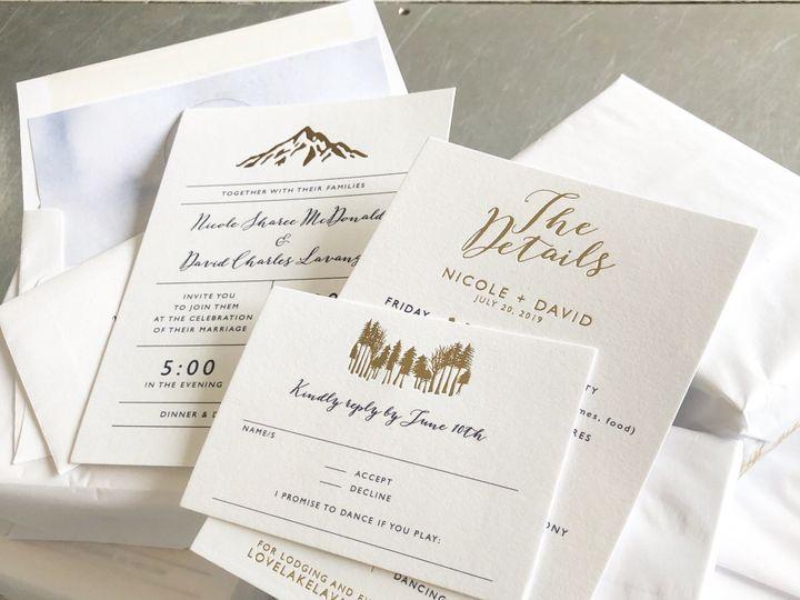 Tmx Nicole Mcdonald 51 65346 1560891319 Excelsior, MN wedding invitation