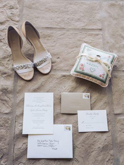 Elegant Letterpress Invitation