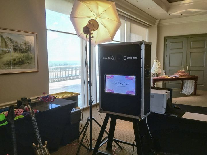 Open format Photo Booth at Capitol City Club Montgomery Al