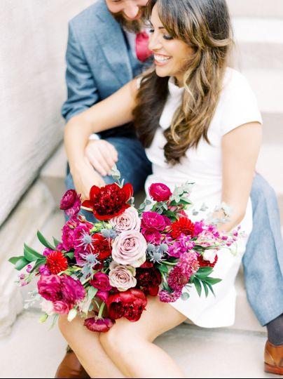 Jewel Toned Bouquet